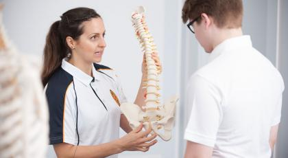 physio and student