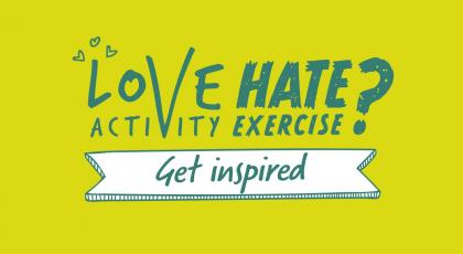 Love activity, Hate exercise? Get some inspiration