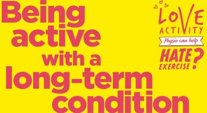 Being active with a long-term condition