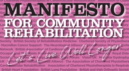 Manifesto for community rehabilitation