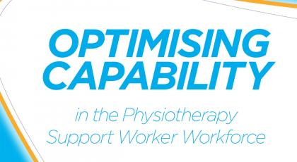 Optimising capability front cover