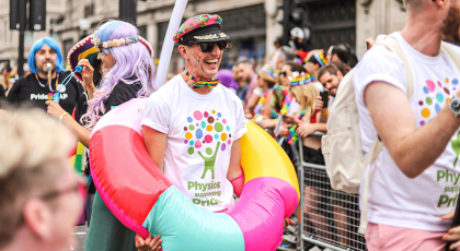 CSP members at Pride 2019