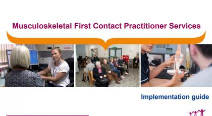 MSK first contact practitioners guide