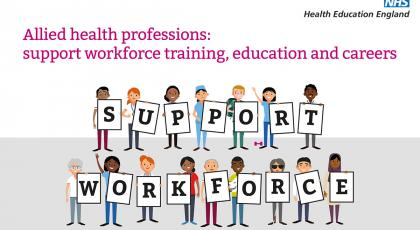 AHP support workforce document cover