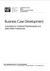 Business case development a template for chartered business case healthcare planning publisher wajeb Images