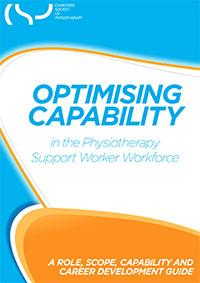 Optimising capability in the physiotherapy support workforce