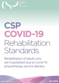 CSP rehabilitation standards for adults hospitalised because of Covid-19