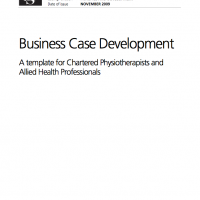 Business case development a template for chartered business case development a template for chartered physiotherapists and allied health professionals the chartered society of physiotherapy cheaphphosting Choice Image