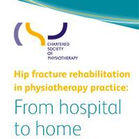 Cover of hip fracture rehabilitation in physiotherapy practice