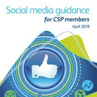 CSP social media guidance cover