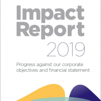 The front cover of the report