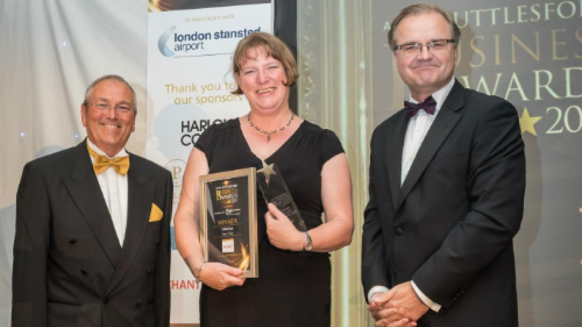 Myofascial release specialists scoop business award | The