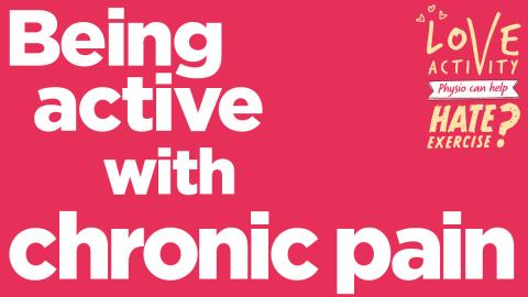 Chronic pain   The Chartered Society of Physiotherapy