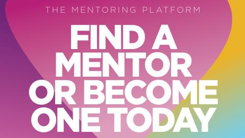 Find a mentor or become one today