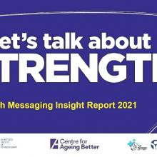 Lets talk about Strength - report cover