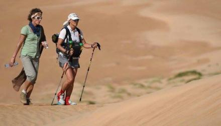 Wiltshire physio pioneers marathon treatment in Oman