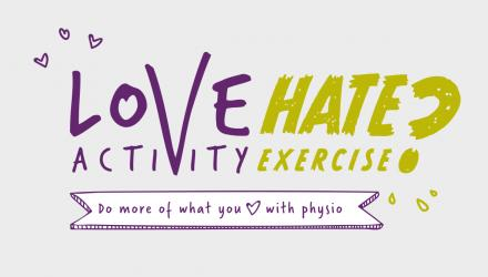Love activity hate exercise? campaign graphic