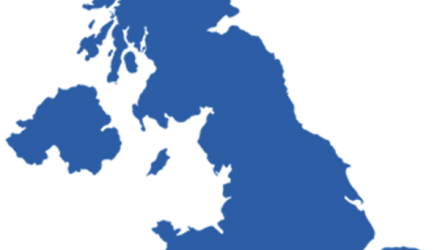 a map of the uk