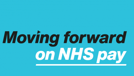 Moving forward on NHS pay