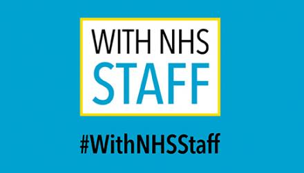Stand #WithNHSStaff for fair pay