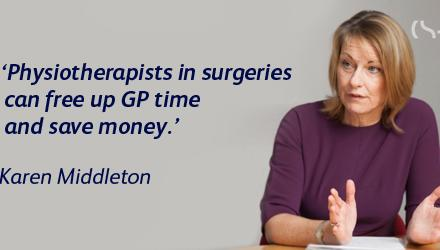 Physios can help give GPs five extra minutes with patients, says CSP
