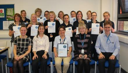 East Lancashire physios win award for should pain research
