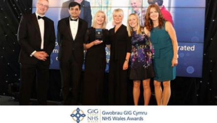 NHS Wales awards Torfaen falls initiative