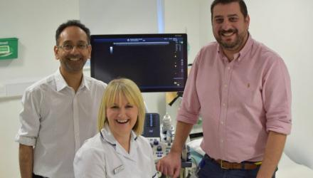 Advanced practitioner's ultrasound skills are a first for north Wales