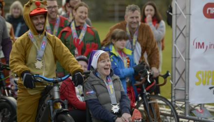 Sidekicks needed to support 'superheroes' at disabled sports event