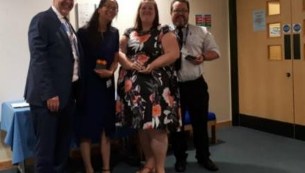 Physio receives award for poster on support for club foot