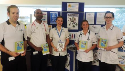 Physios and OTs promote falls prevention