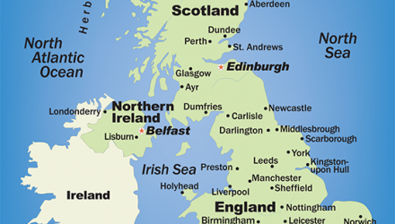 Map Of Uk And Cities.Physiotherapists In Major Uk Towns And Cities The Chartered