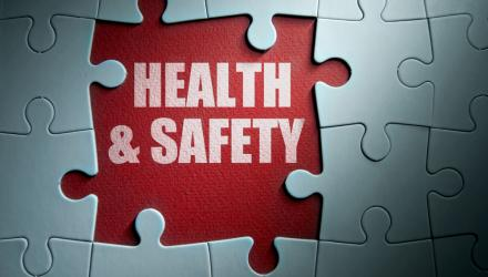 jigsaw puzzle saying health and safety