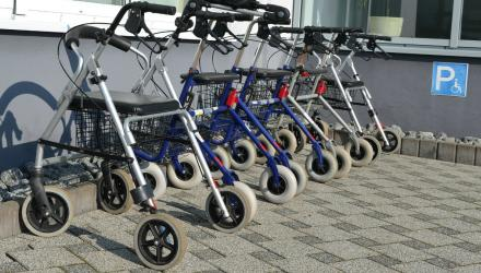 Cardiff and Vale saved about £40,000 last year by reusing walking aids
