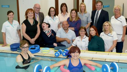 Re-opened hydrotherapy pool in Northern Ireland
