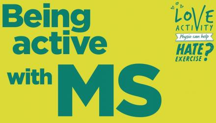 Being active with MS