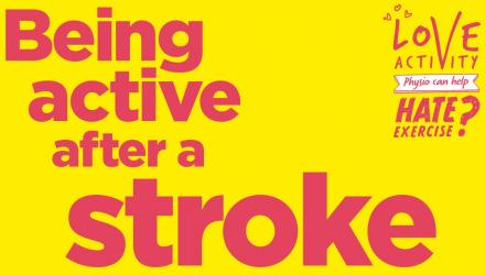 Being active after a stroke