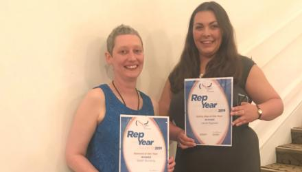 CSP rep award winners 2019