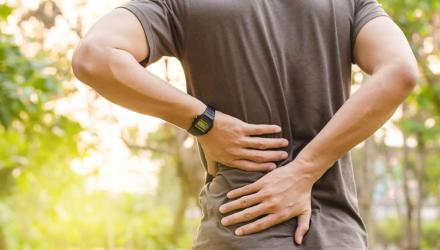 Managing your back pain at home