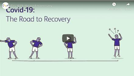 Covid-19: Road to recovery animation screen grab 1