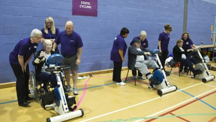 Physios support first Sporting Senior Games