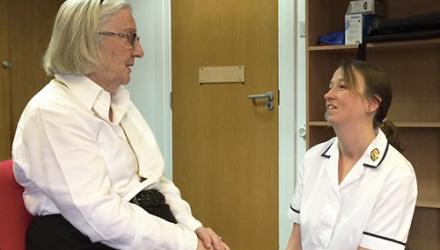 Physios launch a test on Older People's Day to assess people's risk of falling
